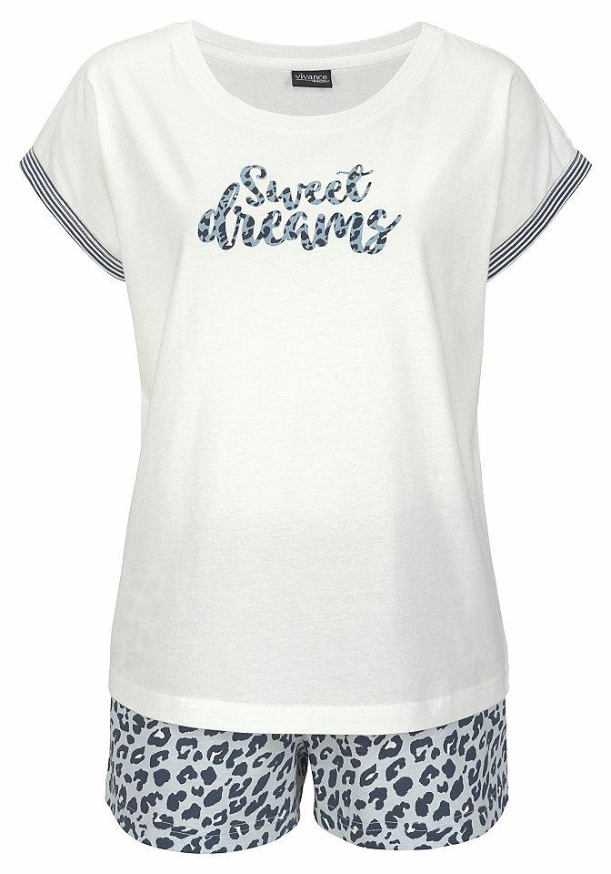 Vivance Dreams leopárd mintás rövidnadrágos pizsama  298fcb241b