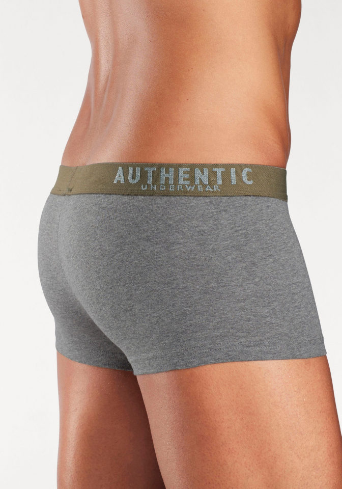 AUTHENTIC UNDERWEAR Bokové boxerky, Authentic Underwear Le Jogger (4 ks) šedá 9