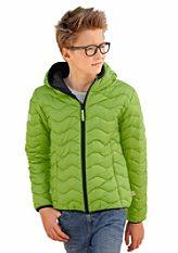Exes fiú steppelt dzseki kontrasztszínű szegéllyel
