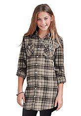 Buffalo kockás lányka ruha