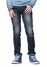 Arizona Strečové úzke džínsy rovného strihu, pre chlapcov