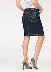 Arizona Riflová sukně »kontrastní švy«
