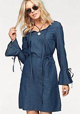 Arizona Džínové šaty »rukávy s volánkem«